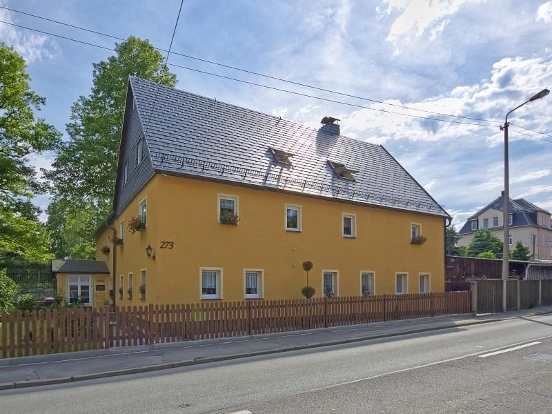 Hausfassade Fira in 09116 Chemnitz