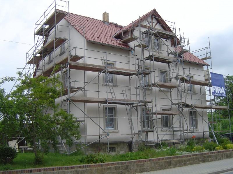Außendämmung in 01477 Arnsdorf