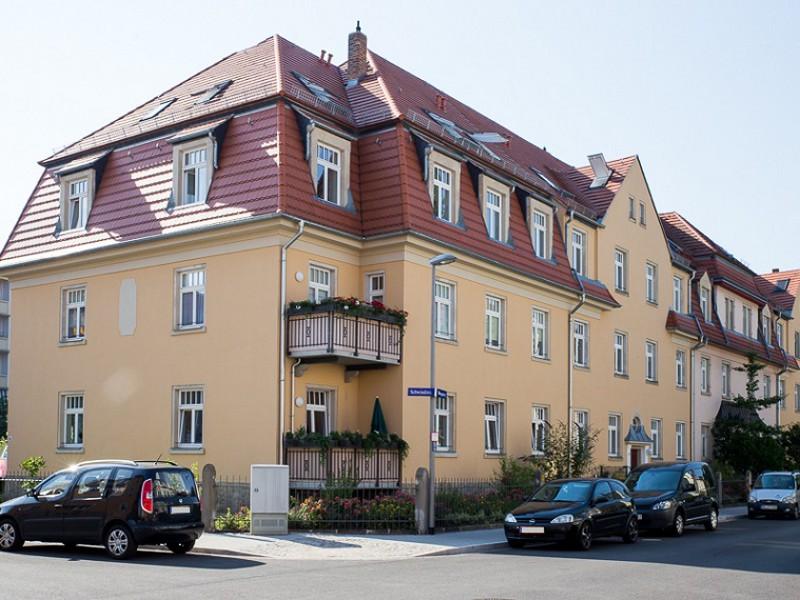 Wohnanlage Mengsstraße 13+17 / Schwindstraße 13  Dresden