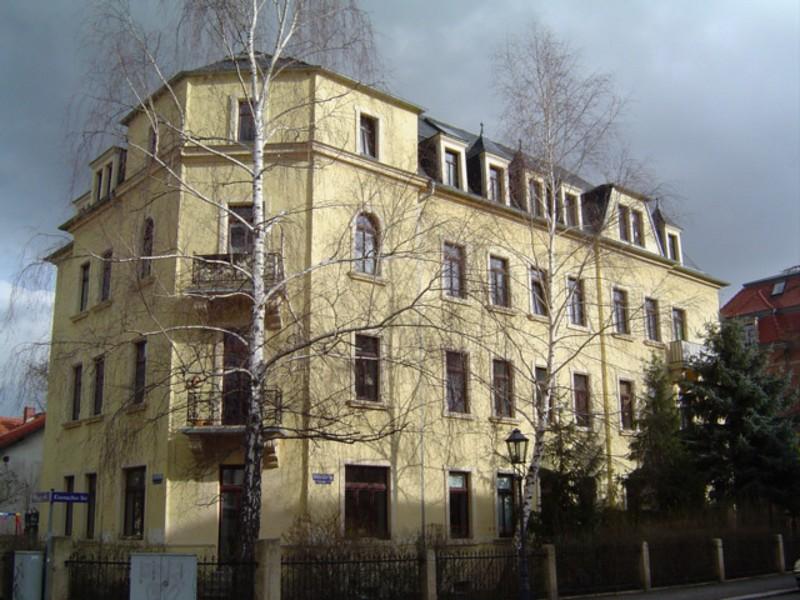 Wohn- und Geschäftshaus Behrischstraße 9, Dresden,  2 Gewerbe- und 8 Wohneinheiten