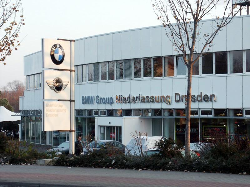 Neubau BMW Niederlassung,  Dresden