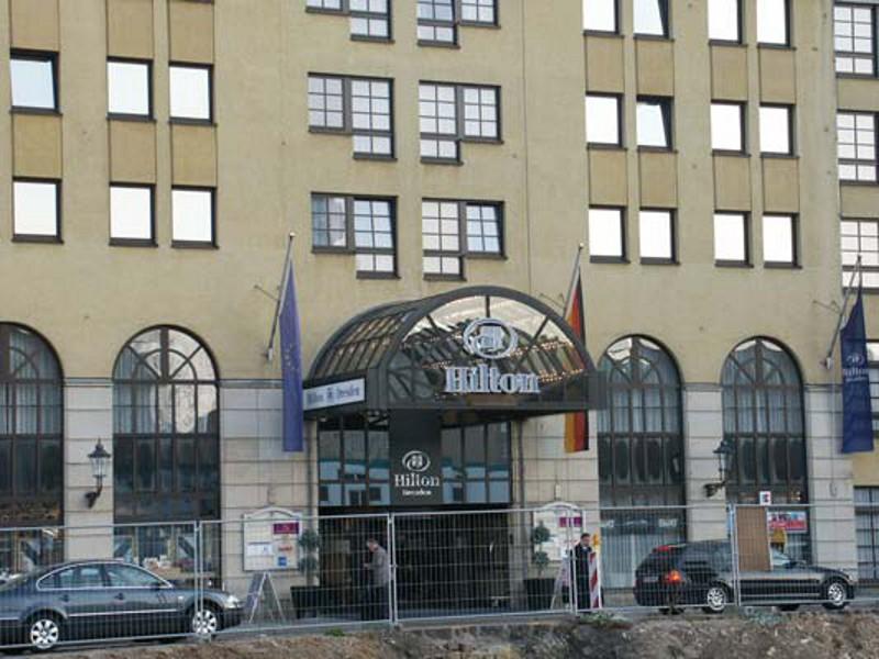 Modernisierung  Hilton Hotel Dresden An der Frauenkirche 5