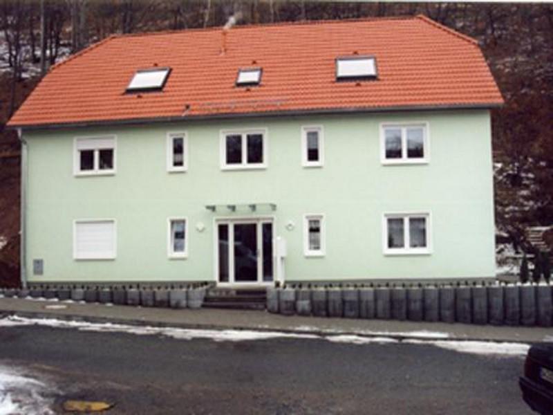Neubau Zwei 4-Familienhäuser, Bergstraße 44/46, Freital