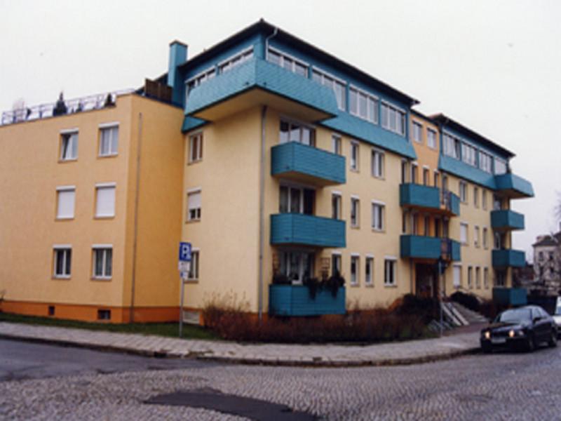 Neubau - Wohn- und Geschäftshaus   Heidenau, 25 Wohn-   und 1 Gewerbeeinheit