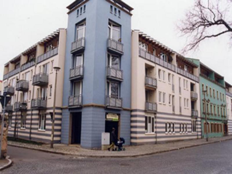 Neubau - Wohnanlage  Dresden-Übigau, 60 Wohn-  und 2 Gewerbeeinheiten