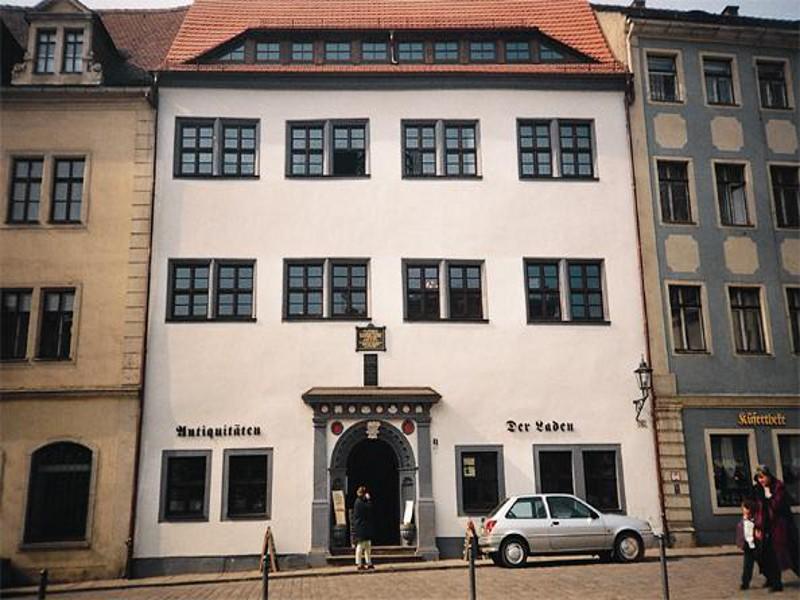 Wohn- und Geschäftshaus Markt 9, Meißen, St.-Benno-Haus,  4 Gewerbe- und 4 Wohneinheiten