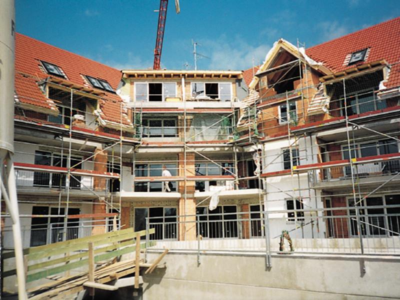 Neubau - Wohnanlage Coswig, 24 Wohneinheiten